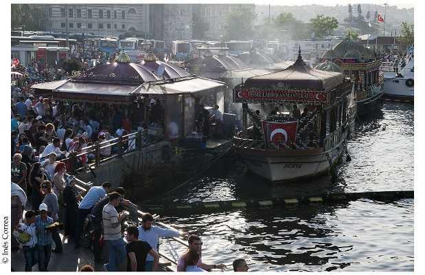 """""""Estaciones"""" de los ferrys"""
