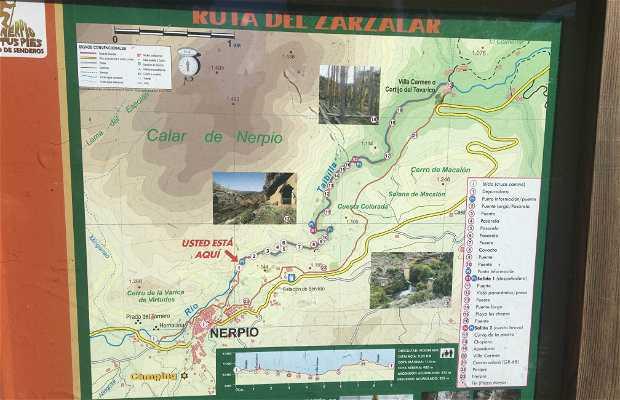 ruta del Zarzalar