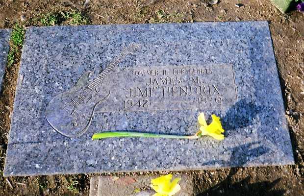Tomba di Jimi Hendrix