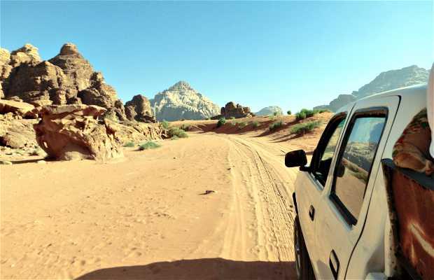 Escursione 4x4 del Wadi Rum