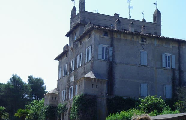 Palazzo Chigi a Castel Fusano, Roma