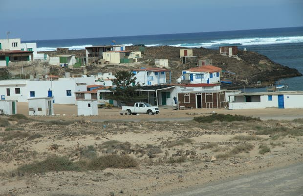 El Majanicho Beach and village