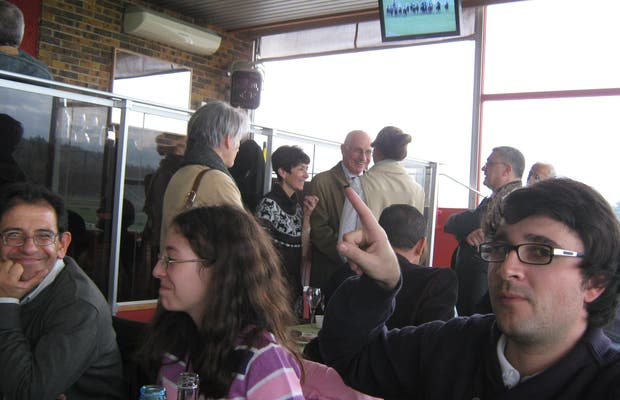 Restaurant La Cravache D'Or (restaurante del hipódromo)