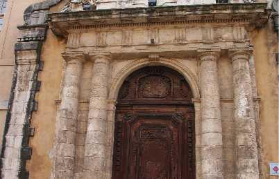 Puerta del antiguo hospital marítimo
