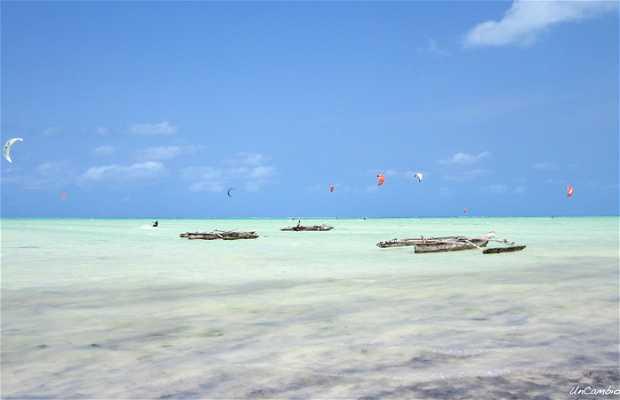 Kite surf en Paje