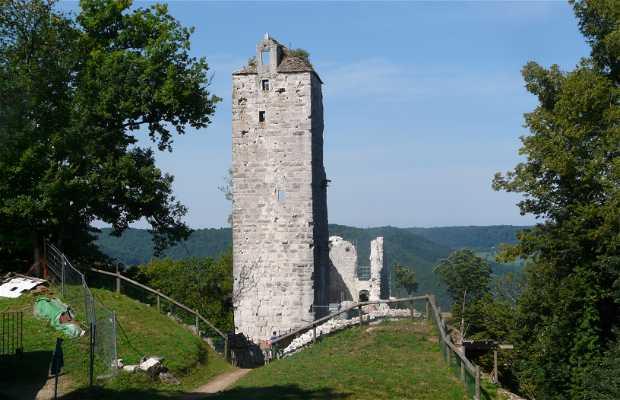 Ruines de Scey / Castel saint Denis