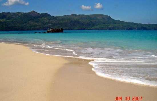 La spiaggia di Samanà