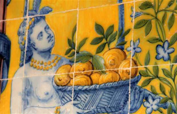Galerie des Azulejos de Queluz