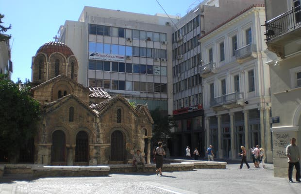 L'Eglise Kapnikarea