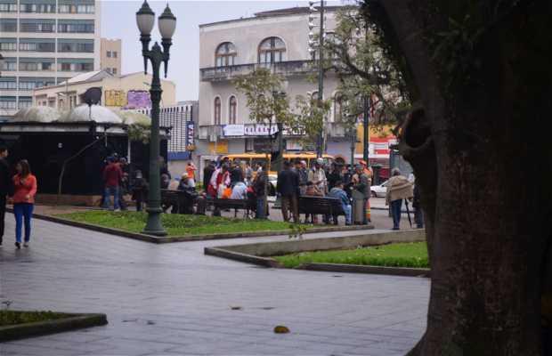 Ruínas da Praça Tiradentes