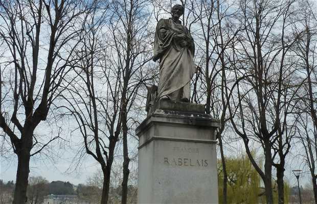 François Rabelais Statue