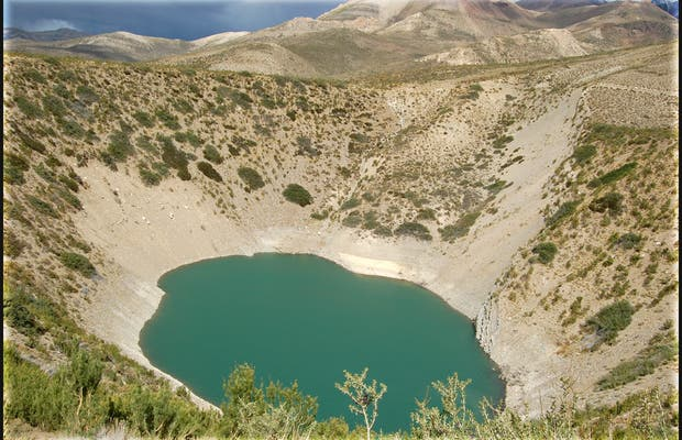 Camino a las Leñas, Mendoza