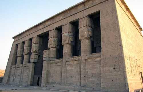 Templo de Hator en Dendera