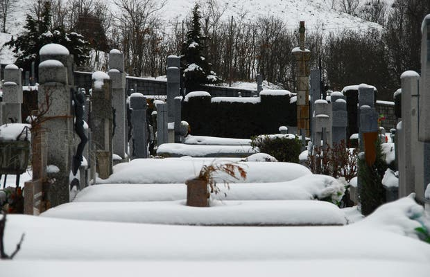 El cementerio de Cercedilla