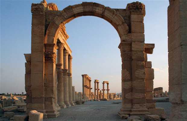 Ruínas de Palmira
