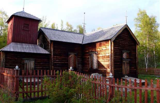 Chiesa in legno di Pielpajärvi