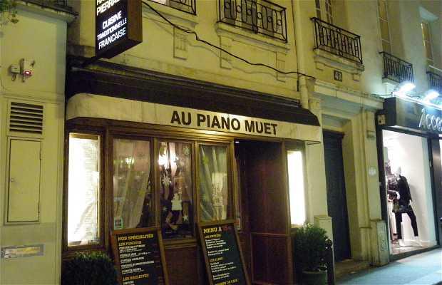 Au Piano muet (Cerrado)