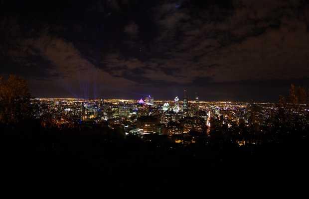 El mirador de noche