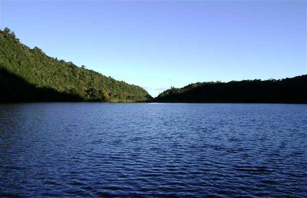 Coba Negra lagoon