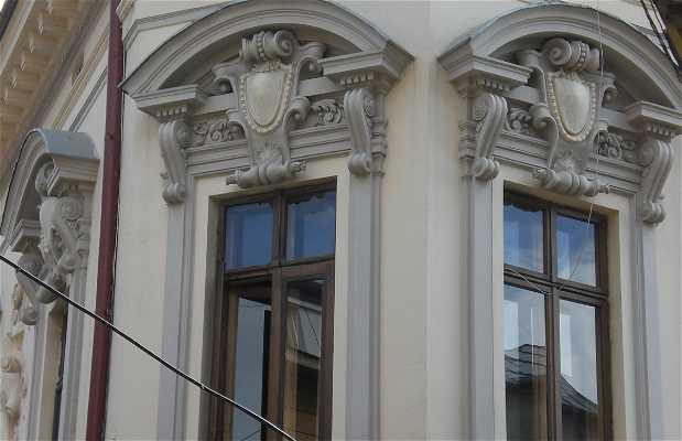 Vieux quartier de Bucarest