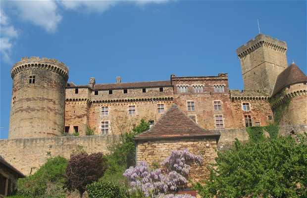 Castillo de Castelnau- Bretenoux, Prudhomat, Francia
