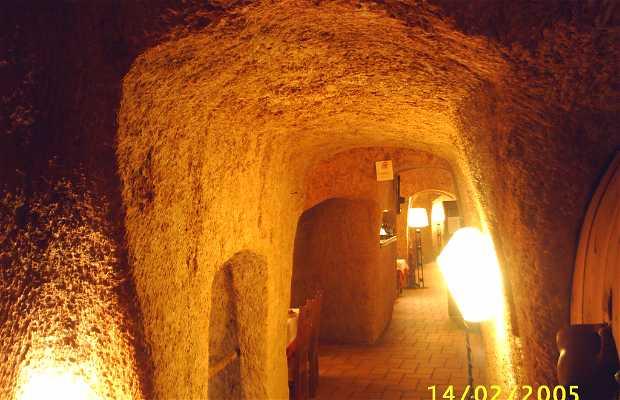 Los poinos Grotte restaurant