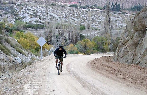 Mountainbike en Valle del Elqui
