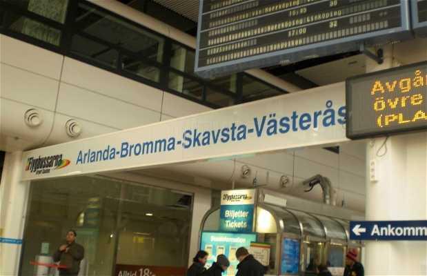 Autobuses del aeropuerto, Flygbussarna