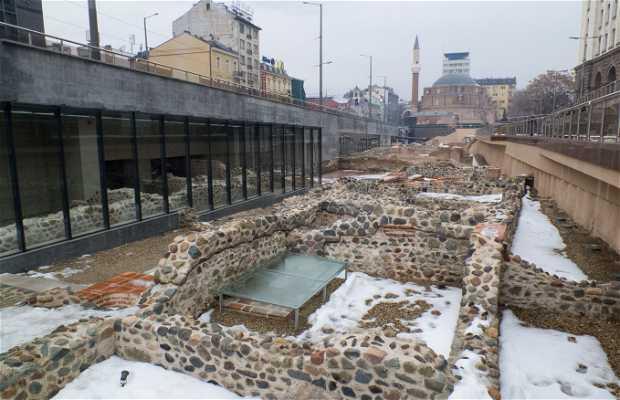 Ruinas romanas de Serdica