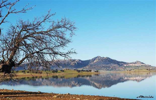 Lac artificiel de La Serena