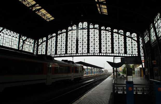 La gare ferroviaire de Santiago
