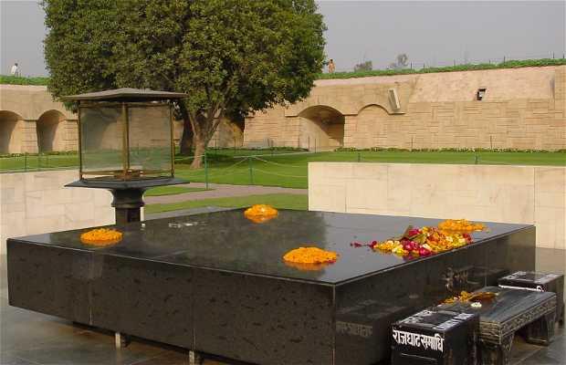 Raj Ghat - Memorial de Ghandi