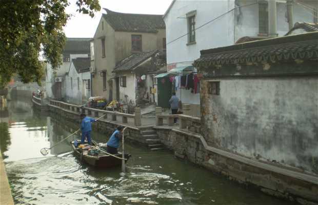Canales de Suzhou (paseo en barca)