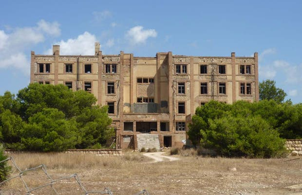 Former tuberculosis hospital of Tarragona