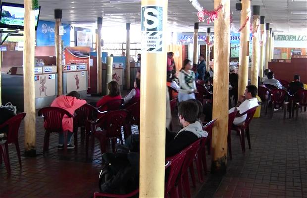 Sala de Embarque - Aeropuerto de Nazca