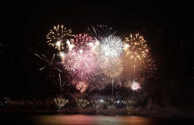 Fireworks in Altea
