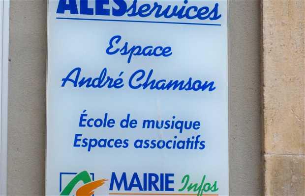 André Chamson Space