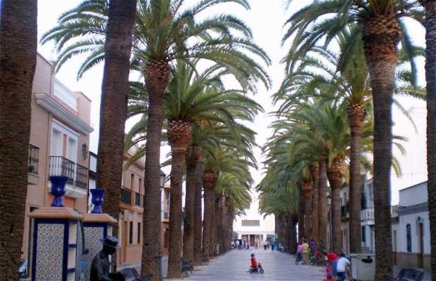 Monumento alle panchine e biblioteche di Huelva