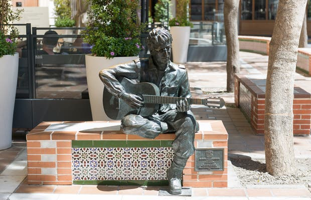 Estatua de John Lennon