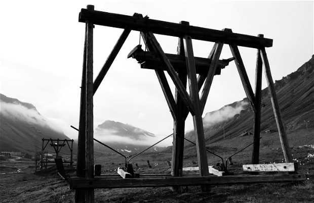 Mina de carbón de las Svalbard