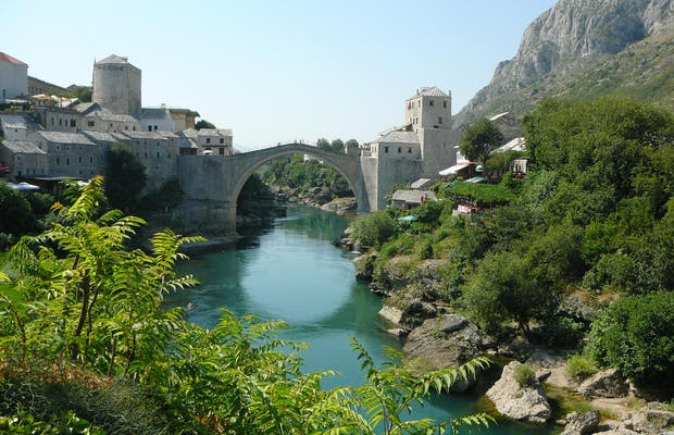 Mostar's old town