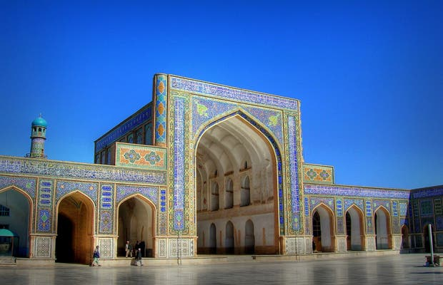 La Mosquée Bleue de Mazār-e Šarīf