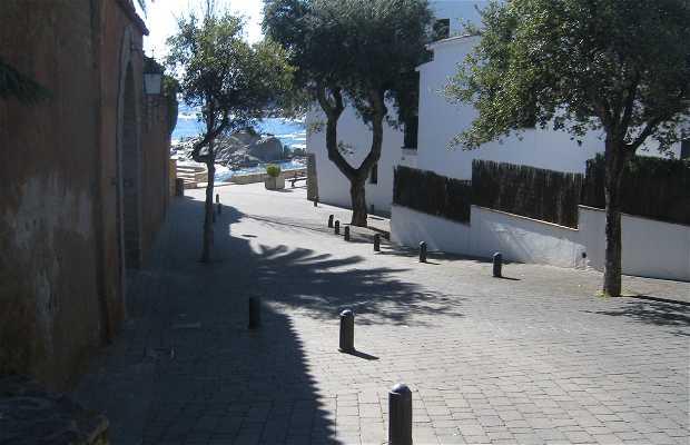 Paseando por las calles de Calella de Palafrugell