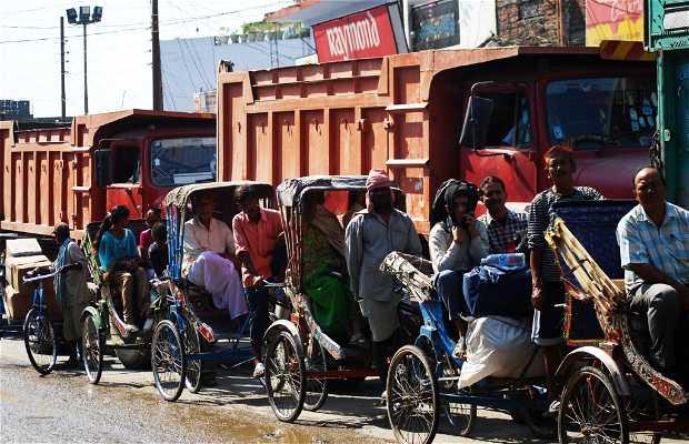 Sunauli: paso fronterizo de India a Nepal