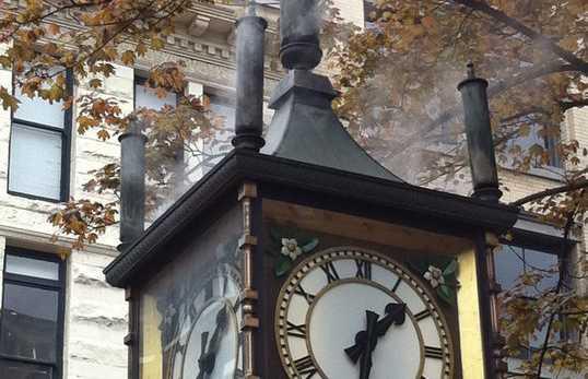 Orologio a vapore di Gastown