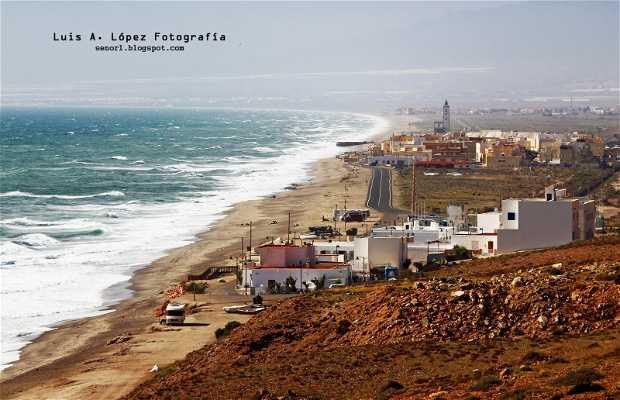 Playa de la Almadraba de Monteleva