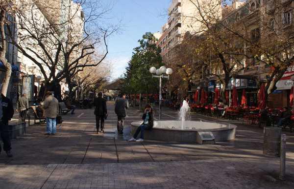 Zona pedonale Sarmiento
