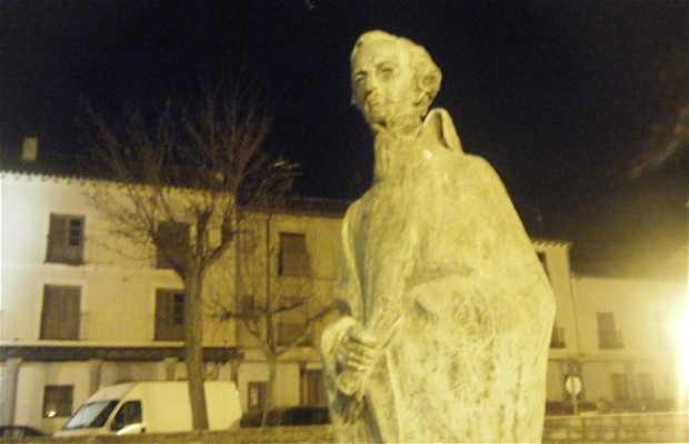 Sculpture à Eulogio Florentino Sanz