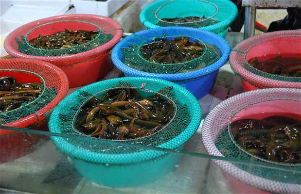 Mercado Antigua Ciudad China
