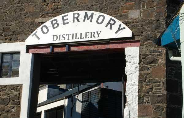 Distillerie Tobermory (île de Mull)